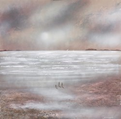 Boundless Shores VI by Mia Cameron -  sized 30x30 inches. Available from Whitewall Galleries